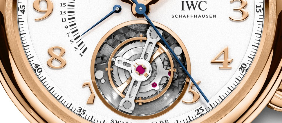 IWC DA VINCI TOURBILLON RÉTROGRADE CHRONOGRAPH IW393101 swiss watch company