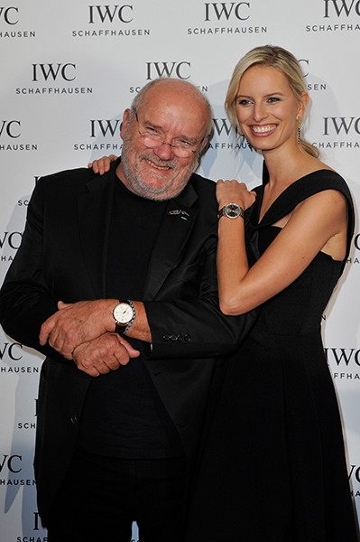 IWC Peter Lindbergh and Karolina Kurkova