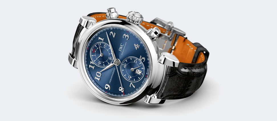 "IWC DA VINCI CHRONOGRAPH  EDITION ""LAUREUS SPORT FOR GOOD FOUNDATION""  IW393402 exclusive watches"