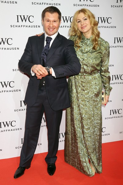 Alexei Nemov and his wife Galina