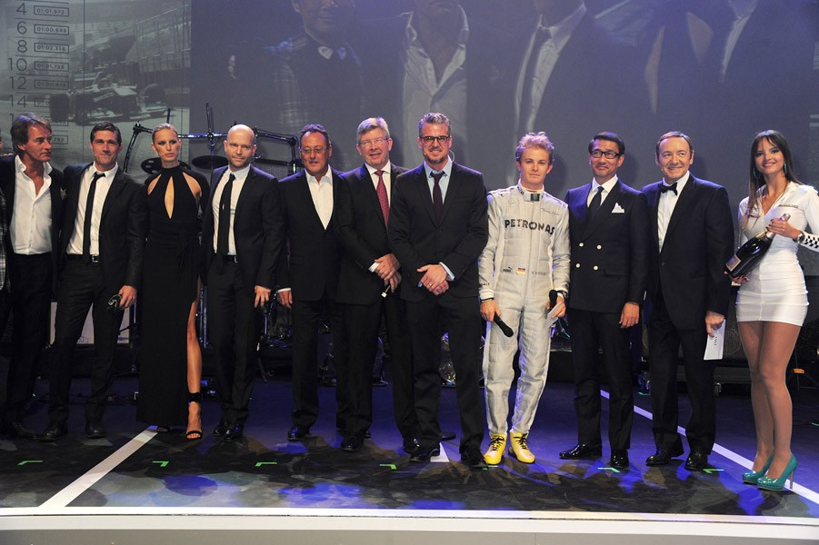 Tim Jefferies, Matthew Fox, Karolina Kurkova, Marc Forster, Jean Reno, Ross Brawn, Eric Dane, Nico Rosberg, Kiichi Nakai and Kevin Spacey