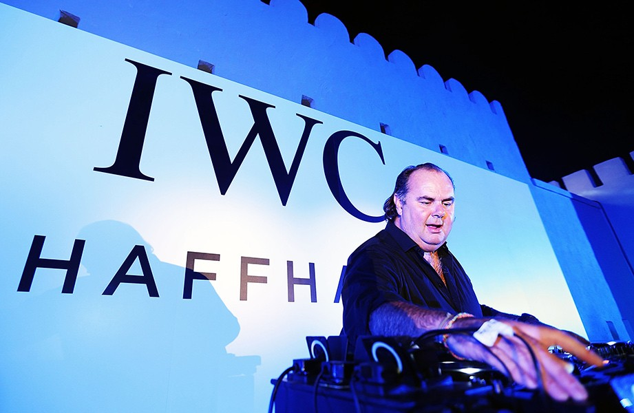 DJ JackE plays at the IWC after party