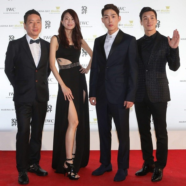 SGIFF-2016-Sang-woo-Song-lee-Sung-Hyun-Si-Kang-Red-Carpet