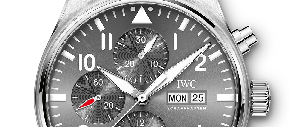 Iwc Spitfire White Dial